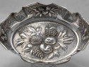 Fructiera argint stil baronk