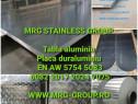 Placa aluminiu 30mm 5083 AW 5754 2017 Duraluminiu 7075 Inox