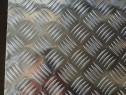 Tabla aluminiu striata 1000x2000mm Quintett Diamond Stucco