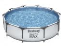 Piscina supraterana cu cadru metalic Bestway Steel Pro MAX™