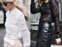 Bluza albă dantelă, super model, import Italia