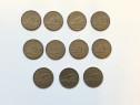 Lot 11 monede 1 leu 1963 RPR comunist Republica Populara Rom
