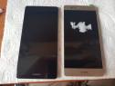 Display Huawei P9 negru si gold cu rama nou