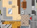 Apartament 2 Cam. Decomandat - Zona case - Strazi Asfaltate