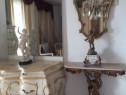 Consola amoras +oglinda,vintage antic, mobila hol