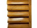 Gard metalic tip Jaluzele Atlas 2000×1045 Imitatie lemn 0.40