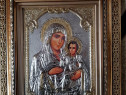 Icoana Maica Domnului Argintata-IERUSALIMA