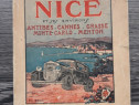 Carte veche ghid cannes monte carlo 1931