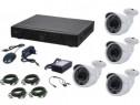 Kit supraveghere video AKU 4 camere 4.0MPx - Ak9044C