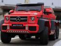 Masinuta electrica Mercedes G63 6x6 270W cu Scaun adult