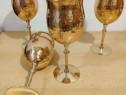 Pahar cupru cu picior pt vin goblet - 700ml