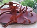 Sandale, piele Camel, mar 44- 45 (28.5 cm)