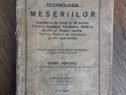 Tehnologia Meseriilor - Const. Popovici 1928 / R2P1S