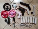 Wii: Controller, volan, nunchuck, microfon, pistol, pusca,