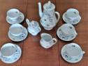 Serviciu ceai portelan fin iris cluj, impecabil