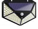 Lampa solara cu senzor de miscare 100 Led