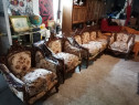 Canapea fixa stil baroc cu 3 fotolii