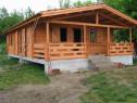 Casa căsuța din lemn ieftin bun și rapid