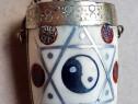 C737-Sticla mica parfum Steaua lui David-Ing-Iang-Pasare.