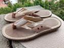 Slapi/Sandale piele noi, mar, 45 (29 cm)