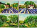 Pachet 4 tablouri miniaturi