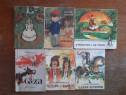 Lot 6 carticele vintage cu povesti / R6P5F