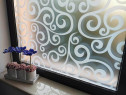 Folie decorativa pentru geamuri - decorare creativa!