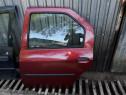 Usa stanga spate Dacia Logan berlină vișinie