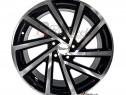 Jante AUDI SEAT SKODA VW 18 R18 Black Polish 5X112