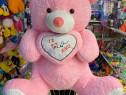 Urs de plus roz jucarii din plus