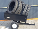 Remorca atv motocultor tractor gazon pret 880 lei import