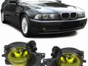 Faruri de ceață cu sticla galben H8 BMW E39 facelift 00-04