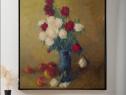 Natura statica cu flori si fructe (1)