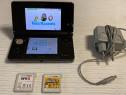 Nintendo 3DS+2Jocuri Super Mario Bros2+Fifa15+Germania