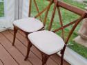Scaune lemn Crossback (scaun Pilgrim) restaurant evenimente