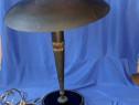 Lampa electrica veche din bronz
