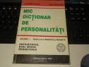 Mic dictionar de Personalitati Marilena Bercea Vol. I - 2002