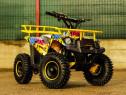 ATV electric KinderAuto Eco Torino Cross 1000W 36V Grafiti