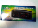 Ceasuri digitale cu alarma/zi/data si termometru