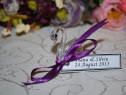 Marturii nunta/botez Lebada cristal model deosebit marturie