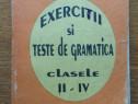 Exerciții și teste de gramatică pentru clasele II-IV, 2 - 4