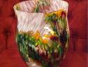 Vaza decorativa unicat handmade / arta plastica