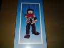 Marionetă cu sfori clovn 41 cm
