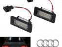 Lampi led smd canbus nr de inmatriculare Audi S5 dupa 2008