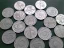 19Monede vechi,cu valoare nominala 500 lei,cu eclipsa 1999