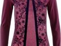Bluza model dantelat catifelat CADOU CRACIUN