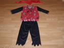 Costum carnaval serbare pirat pentru copii de 7-8-9-10 ani