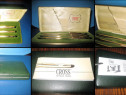 Set cutie 3 pixuri cross patent usa placate cu aur stare bun