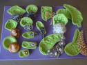 Silicon alimentar, matrite, coloranti pudra, decupatoare
