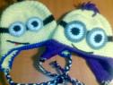 Caciulite tricotate minioni